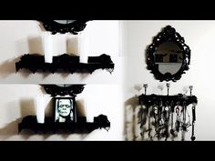 (9) DIY Easy Gothic Baroque Themed Display/Jewelry Holder - YouTube