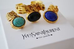 But seriously love this YSL ring Fashion Jewelry, Women Jewelry, Ring Watch, Family Jewels, Ysl, Yves Saint Laurent, Gemstone Rings, Bangles, My Style