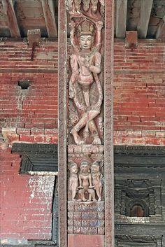 Le temple de Pashupatinath (Bhaktapur)