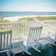Blue is the Best Color for Relaxation - Beach Bliss Living Old Florida, Florida Beaches, Florida Style, Florida Travel, Ocean Beach, Beach Bum, Beach Trip, Porches, Best Color