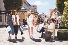 La Vallee Village nahe bei Paris - hier kann man große Marken zu tollen Preisen erstehen.