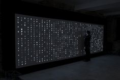 variable // Monotype Digital Type Wall // data driven art and generative design