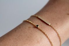 15mm Tiny Bar Bracelet