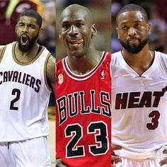 List of guards to average 25 ppg on 60% FG in a playoff series:  Michael Jordan (1992) Dwyane Wade (2006) Kyrie Irving (2017) #repre23nt #kyrieirving #michaeljordan #dwyanewade #repre2ent #repr3sent