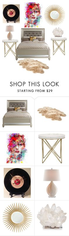 """""""an ideal bedroom"""" by bryce-king ❤ liked on Polyvore featuring interior, interiors, interior design, home, home decor, interior decorating, UGG, Barclay Butera, Kathryn McCoy Design and bedroom"""