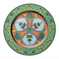 Rosenthal Versace 20 Years Plate Collection Wall Plate 'Marco Polo' 30 cm