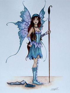 Gothic Fantasy Art, Fantasy Dragon, Dragons, Amy Brown Fairies, Fairy Paintings, Fairy Statues, Unicorns And Mermaids, Mystique, Beautiful Fairies
