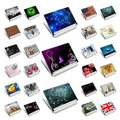 """Prints Laptop Skins Sticker Cover Decal Protectors for 12.6"""" 13"""" 13.3"""" 14"""" 14.4"""" 15"""" 15.4"""" 15.6"""" for LENOVO/HP/DELL/ACER/Asus"""