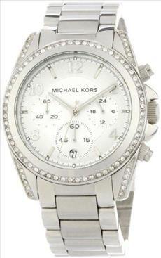 41042f22a91e Michael Kors Michael Kors Women s MK5165 Silver Blair Watch Chronograph