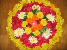 Flower rangoli designs are the most special ones, that is used among the many cultures. Check out some of the latest floral rangoli designs you should try in this Best Rangoli Design, Rangoli Designs Diwali, Diwali Rangoli, Rangoli Designs With Dots, Rangoli With Dots, Kolam Designs, Small Rangoli, Flower Rangoli, Flower Mandala