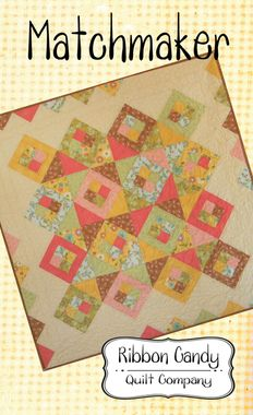 Ribbon Candy Quilts - Matchmaker Quilt Pattern