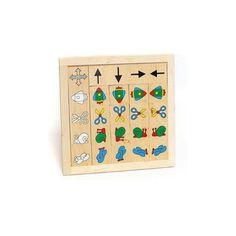 """Domino topografico """" destra/sinistra""""  Destra/sinistra, su e giù, con questo domino diventa facile  imparare."""
