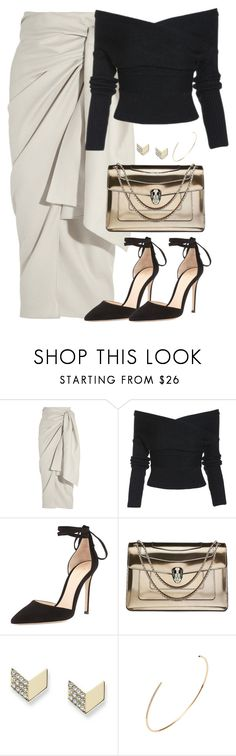 """""""Unbenannt #2222"""" by luckylynn-cdii ❤ liked on Polyvore featuring Joseph, Gianvito Rossi, Bulgari and FOSSIL"""