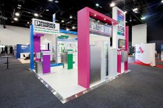 Rittal exhibition stand designed and constructed by Expocentric. www.expocentric.com.au