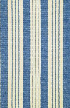 DASH & ALBERT Dash & Albert 'Samode' Indoor/Outdoor Rug, Size 2ft 0in x 3ft 0in - Blue