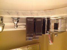 Hotel Bath Amenities – I always stock my guest bathroom with a fresh set of amenities from a hotel equally as luxurious as my home!?!