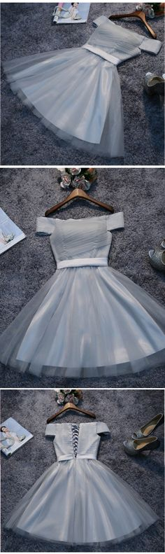 Cheap Homecoming Dress Short Prom Dress Tulle Party Dress cheap prom dresses prom dresses 2017 prom dresses 2018 plus size prom dresses short prom dresses #annapromdress #homecomingdress #homecoming #shortdress #shortpromdress #partydress #party #prom #fashion #style #dress