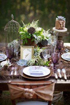 Les meilleures idées déco pour votre mariage d'automne Image: 1