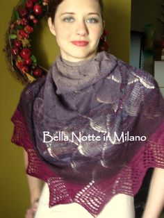 Check out this item in my Etsy shop https://www.etsy.com/listing/96927919/plethora-of-purples-shawlette-by-eve