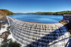 New Croton dam and reservoirs -New York