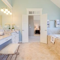 Jude Children's Research Hospital Dream Home 2015 Houzz, Baby Room, Tall Cabinet Storage, The Neighbourhood, Bathrooms, Beach, Furniture, Home Decor, Style