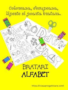 Alfabet bratara prez Diy And Crafts, Arts And Crafts, Class Decoration, Reading, Wordpress, Diana, Classroom, Alphabet, Bunk Bed