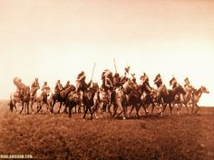 Brule War Party -Teton Sioux