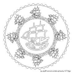 Dont Eat the Paste A Pirate Compass Rose to Color Coloring