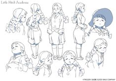 "Crunchyroll - ""Little Witch Academia"" Site Previews New Characters"
