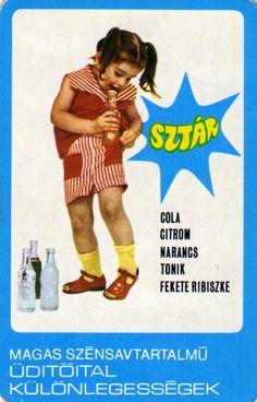 BUSZESZ (SZTÁR üdítőital) – 1975 | Kártyanaptárak