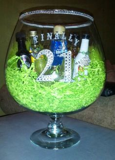 21st birthday centerpieces on pinterest for 21st b day decoration ideas