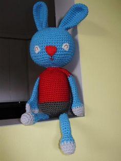 Odie the bunny - an amigurumi pattern