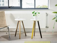 SPA stool / side table by Stilst on Etsy