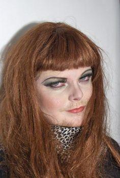My brother as a drag queen. MUAH & Photo: Marja Perälä, model: Kari
