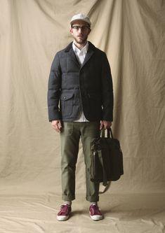 ダウンジャケットの着こなしとコーデ | メンズファッションスナップ フリーク