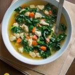 Healthy Chicken Kale Soup | Best Recipe Box