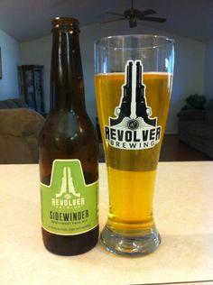 Revolver Sidewinder Southwest Style Pale Ale. 6% ABV