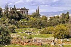 Image result for athens agora