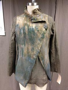 Matt Reitsma: Head Textile Artist for Noah - Creating the Richly Textured Fabrics of an Apocalyptic World - Tyranny of Style