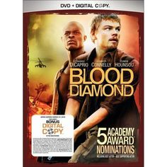 Blood Diamond Leonardo Dicaprio Movies, Djimon Hounsou, Best Actor, The Man, Blood, Actors, Diamond, Digital, Movie Posters