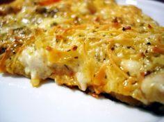 Pizza de Calabacines y Beicon 3