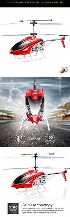 Syma S39 RC Helicopter with GYRO Toy 2.4G 3Channel, Red #kit #syma #products #camera #gadgets #parts #racing #tech #fpv #shopping #drone #indoor #helicopter #technology #plans