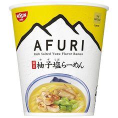 日清 THE NOODLE <TOKYO AFURI 限定柚子塩らーめん> - 食@新製品 - 『新製品』から食の今と明日を見る! Rice Packaging, Package Design, Junk Food, Noodles, Commercial, Soup, Pasta, Anime, Products