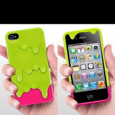 Melting icecream case lemon! For iPhone 4/4s
