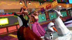 [Kids Songs] Anna Elsa Frozen ABC Song with Rapunzel [Frozen]
