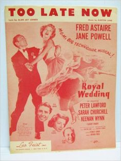 l movie sheet music cover