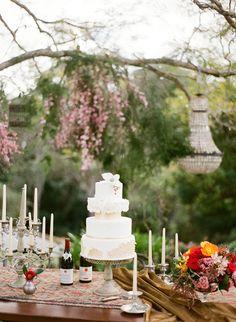 Idée table mariage Retro chic (Jodi McDonald Photography )