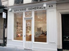 Storefront Design   Concept . Innovative . Creative . Idea   l'épicerie générale,43 rue de Verneuil à Paris