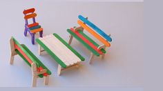 DIY Popsicle Sticks Toys : How to Make Furniture | Backyard Crafts Watch this video: https://www.youtube.com/watch?v=lmkO3dDIYmE Today we will show you how to make simple DIY furniture toys (Table, Bench, and Chair) from Popsicle Sticks with Easy Step by Step for kids, for fun or School projects... Material used: - Popsicle sticks (colorful as you want) - Glue - Saw DIY, Easy Crafts, LifeHack, all in one Welcome to Backyard Crafts ( Creative DIY Crafts Ideas)