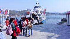 Nami Island near Chuncheon City on April 21st South Korea.